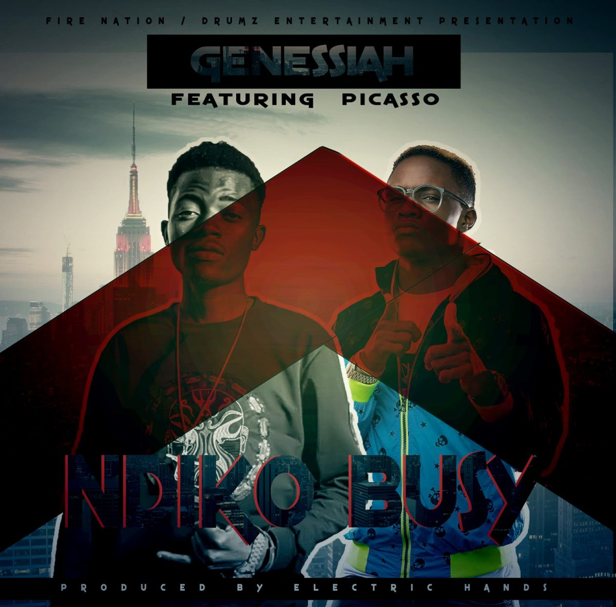 Genessiah ft. Picasso - Ndiko Busy (Prod. Electric Hands)