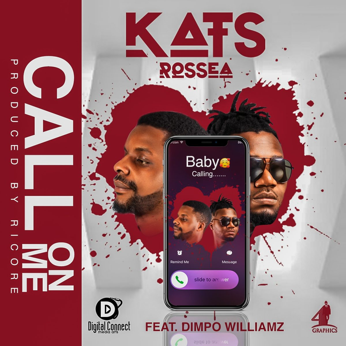 Kats Rossea ft. Dimpo Williams - Call On Me