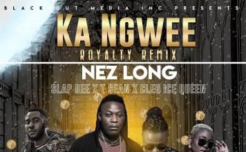 Nez Long ft. Slapdee, T-Sean & Cleo Ice Queen - Ka Ngwee (Remix)