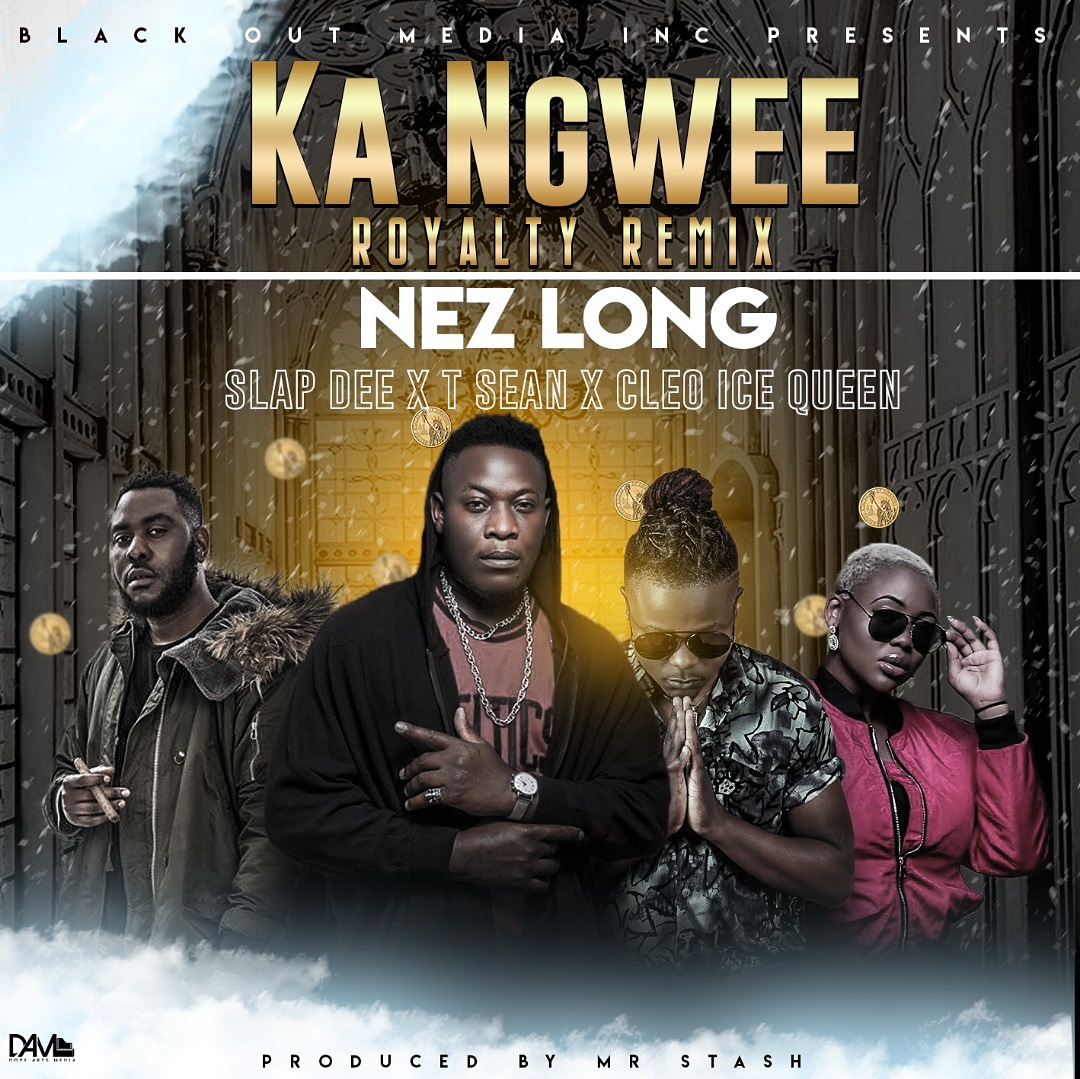 Nez Long ft. Slapdee, T-Sean & Cleo Ice Queen - Ka Ngwee (Remix)