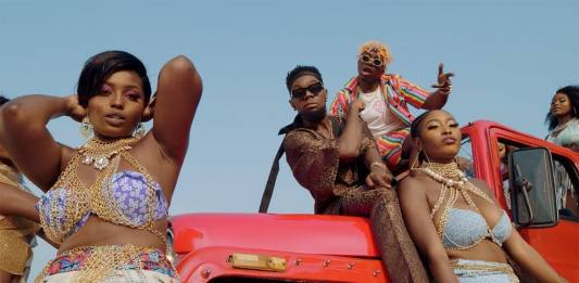 Rayvanny ft. Patoranking, Zlatan & Diamond Platnumz - Tetema - Remix (Official Video)