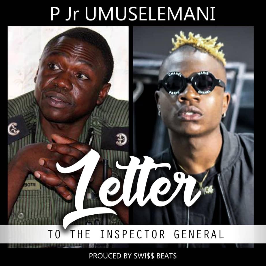 P Jr. Umuselemani - Letter to the Inspector General