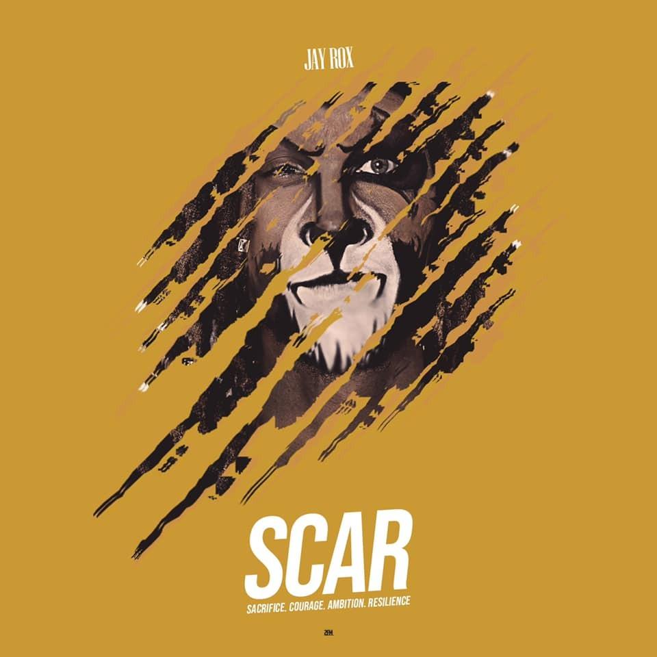 Jay Rox - SCAR ALBUM COVER