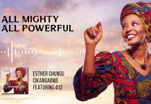 Esther Chungu ft. 412 - Cikangabwe (Lyric Video)