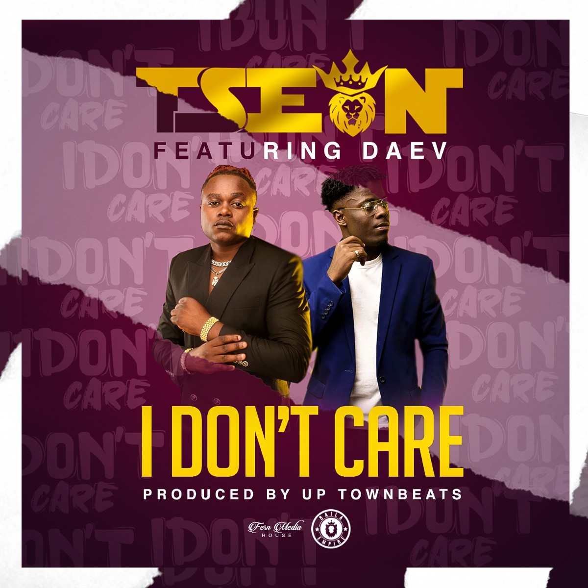 T-Sean ft. Daev - I Don't Care (Prod. Uptown Beats)