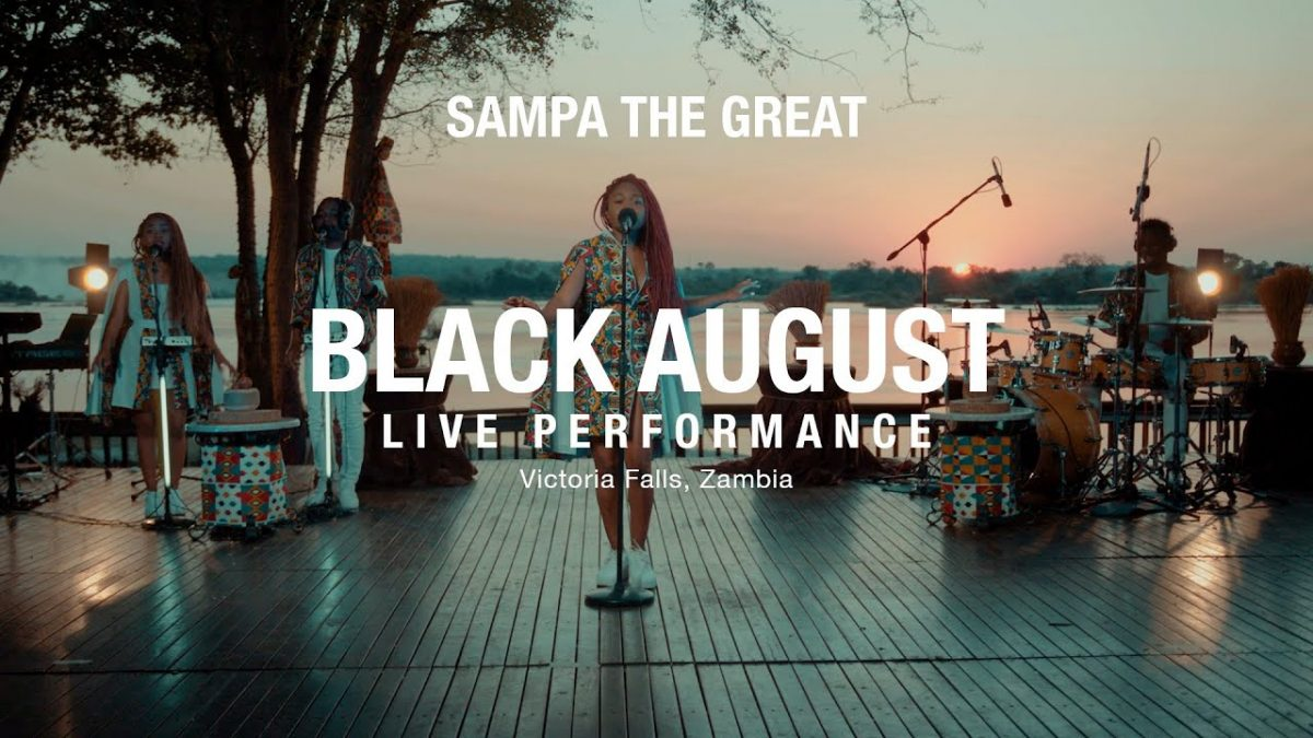 Sampa The Great - Live Performance: Black August (ft. Mag44 & Tio Nason)