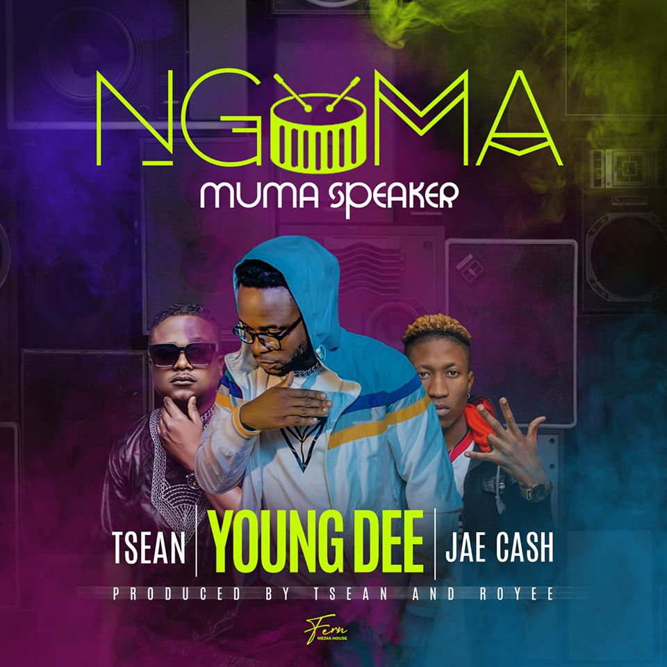 Young Dee ft. T-Sean & Jae Cash - Ngoma Muma Speakers