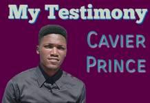 Cavier Prince - My Testimony