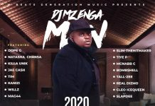 DJ Mzenga Man ft. Various Artistes - 2020 End Of Year Cypher