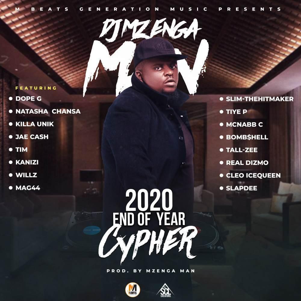 DJ Mzenga Man ft. Various Artistes - 2020 End Of Year Cypher