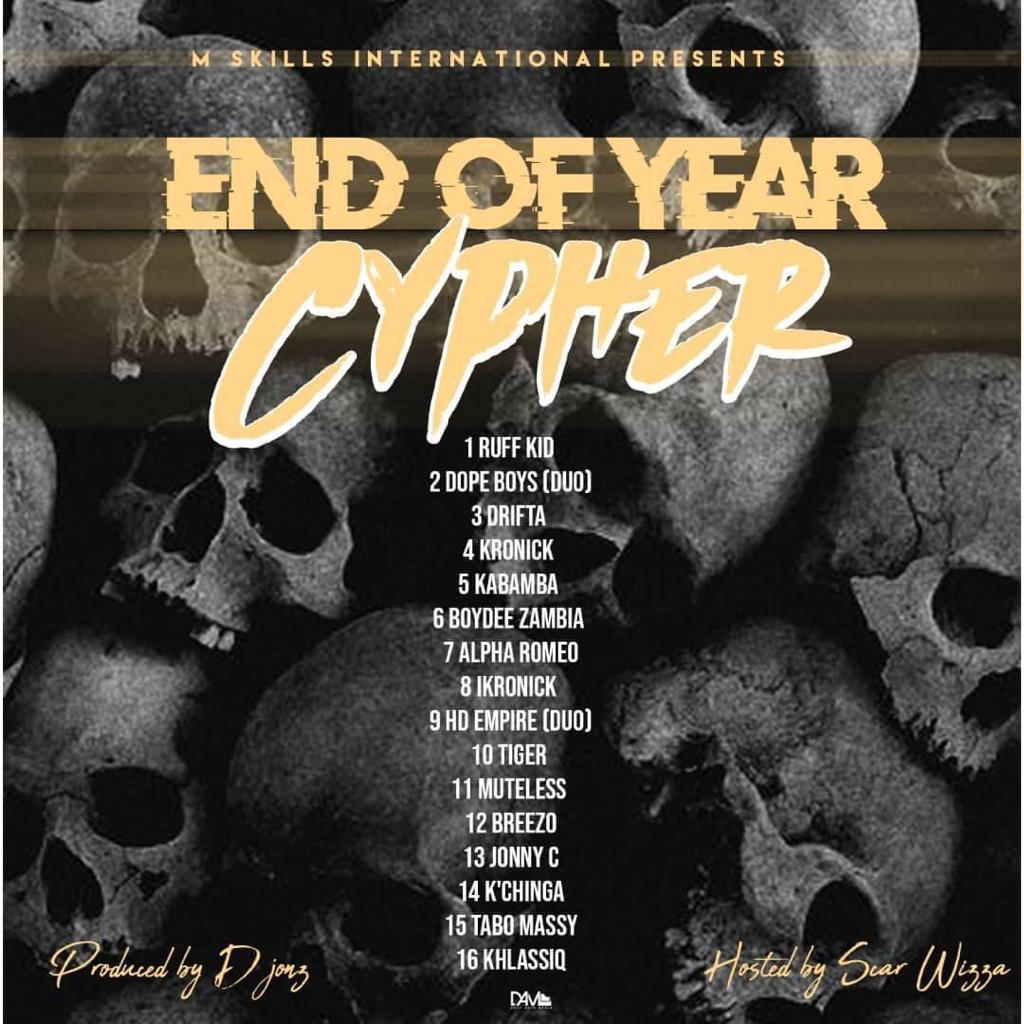 Various Artistes - M Skills Int. End of Year Cypher 2020