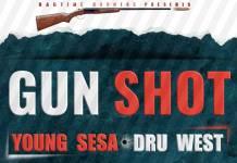 Young Sesa x Dru West - Gun Shot (Prod. DJ Dro)