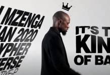 Tiye P - Mzenga Man 2020 Cypher Verse | Video