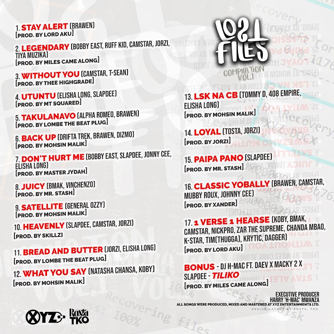 DJ H-Mac - Lost Files Compilation Vol. 1