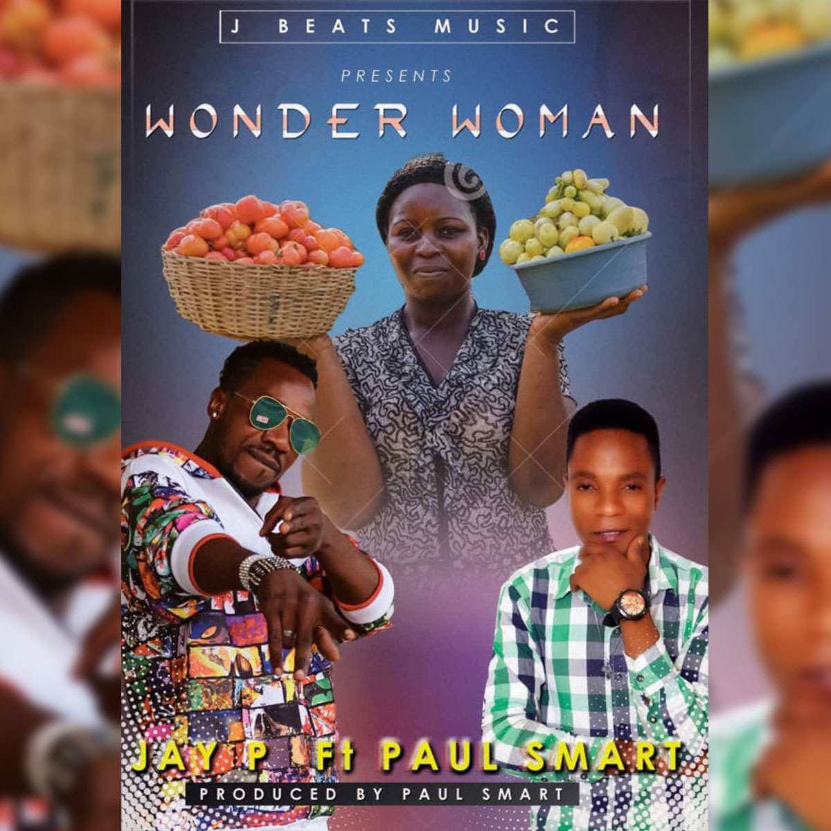 Jay P ft. Paul Smart - Wonder Woman LARGE
