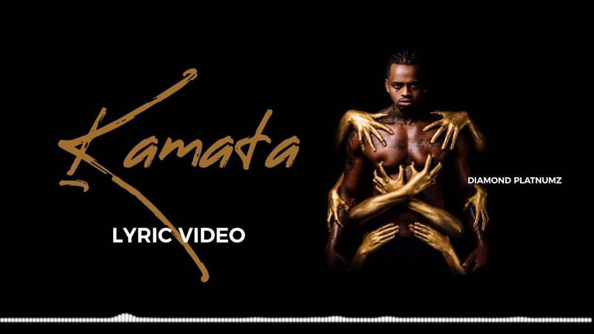 Diamond Platnumz - Kamata (Lyric Video)