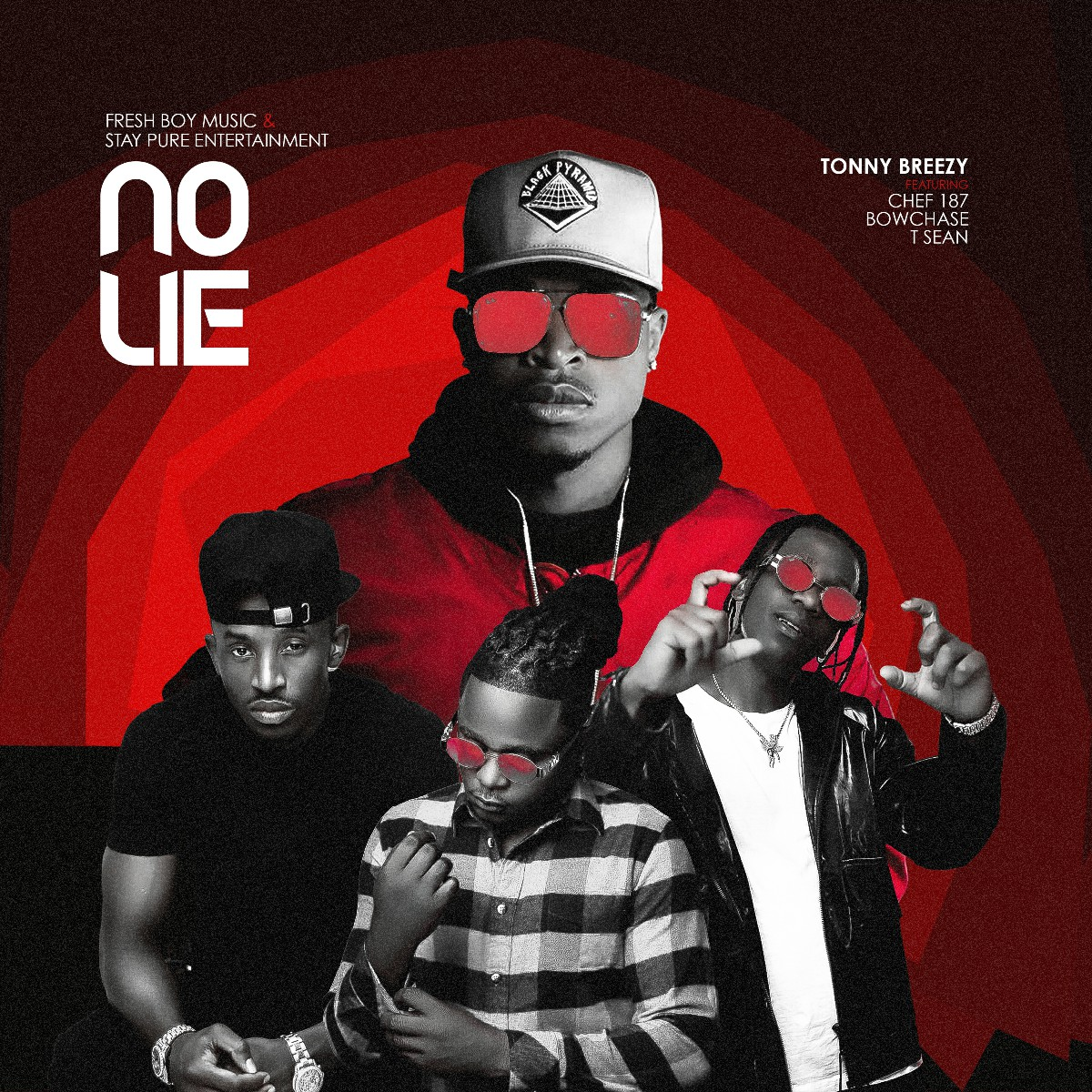 Tonny Breezy ft. Chef 187, Bow Chase & T-Sean - No Lie