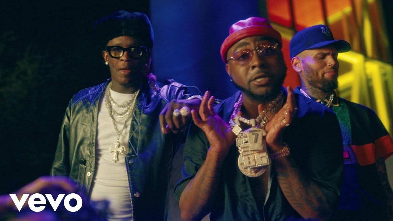 Davido ft. Chris Brown & Young Thug - Shopping Spree (Official Video)