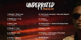 Goddy Zambia set to release 'Underrated' album