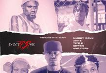 Mubby Roux ft. Jorzi, KRYTIC, Jae Cash & Tiye P - Don't Test Me