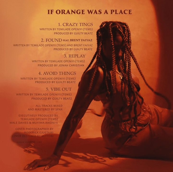 Tems - If Orange Was A Place